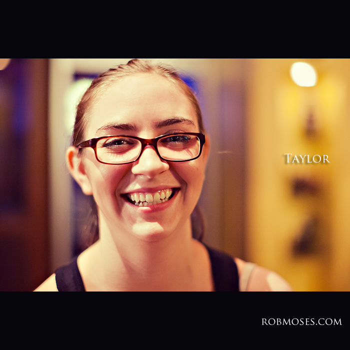 Taylor girl - People of Calgary - Rob Moses Photography