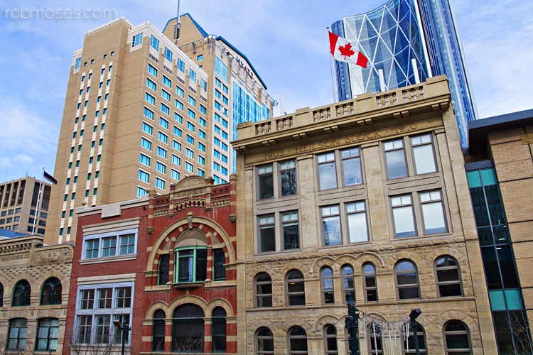 2 Downtown Calgary Buildings - Rob Moses Wedding Photography
