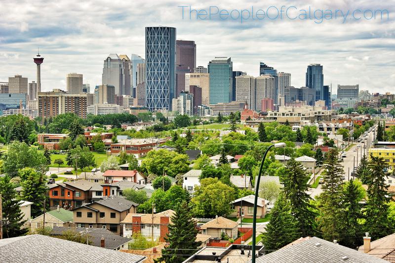 Calgary Skyline Bridgeland Alberta Canada - Rob Moses Photography - famous city urban metro celbrity yyc
