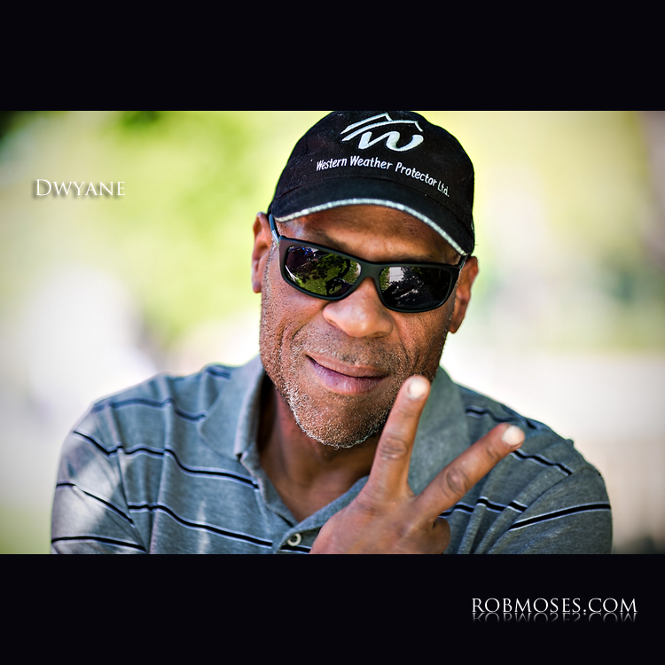 Dwyane - People of Calgary famous - Rob Moses Photography - Canadian Celebrity Bokeh