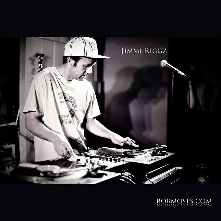 DJ Jimmi Riggz - People of Calgary Music celebrity famous - Rob Moses Photography Canadian photographer